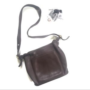 Vintage Coach Legacy 9816 Brown Leather Bag